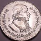 Huge Gem Unc Silver Mexico 1960 Peso~INDEPENDENCIA Y LIBERTAD~Fantastic~Free Shi