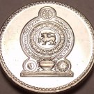 Gem Uncirculated 2004 Sri Lanka(Ceylon) 50 Cents~Awesome~Free Shipping