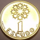 Rare Proof Portugal 1996 1 Escudo~Only 7,000 Minted~Fantastic~Free Shipping
