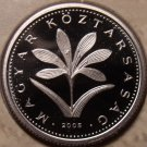 Rare Proof Hungary 2005-BP 2 Forint~Only 7,000 Minted~Colchicum Hungaricum~Fr/Sh