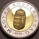 Rare Bi-Metal Proof Hungary 2009-BP 100 Forint~Only 5,000 Minted In Budapest~F/S