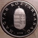 Rare Proof Hungary 2005-BP Forint~Only 7,000 Minted~Minted In Budapest~Free Ship