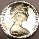 Cameo Proof Australia 1977 5 Cents~Short-Beaked Spiney Ant-Eater~Free Shipping