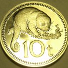 Proof Papua New Guinea 1975 10 Toea~Cuscus~1st Year Ever Minted~Free Shipping