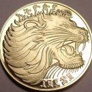 Rare Proof Ethiopia EE-1969 FM Proof 10 Cents~Roaring Lion~Mintage 12,000~Fr/Shi