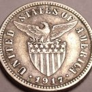 Silver Philippines 1917-S 10 Centavos~Minted In San Francisco~Free Shipping