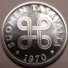 Gem Uncirculated Finland 1970 1 Penni~Great Price~Free Shipping