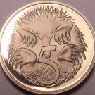 Cameo Proof Australia 1980 5 Cents~Only 68,000 Minted~Echidna~Free Shipping