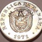 Rare Proof Panama 1971 5 Centesimos~10,696 Minted~Struck In San Francisco~FR/Shi