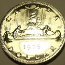 Proof Canada 1976 Canoe Dollar~171,737 Minted~Proofs R Best~Free Shipping
