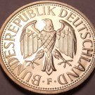 Cameo Proof Germany 1981-F Mark~Minted In Stuttgart~91,000 Minted~Free Shipping