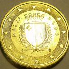 Gem Unc Malta 2008 10 Euro cents~Relief Map Of Europe~Free Shipping