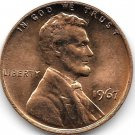 United States Unc 1967-P Lincoln Memorial Cent~Free Shipping