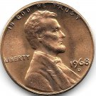 United States Unc 1968-D Lincoln Memorial Cent~Free Shipping