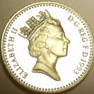 Gem Cameo Proof Great Britain 1993 5 Pence~Only 100,000 Minted~Free Shipping