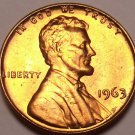 United States Unc 1963-P Lincoln Memorial Cent~Free Shipping