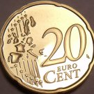 Cameo Proof Germany 2002-A 20 Euro Cents~Minted In Berlin~Cameo~Free Shipping~