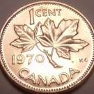 Gem Unc Canada 1970 Maple Leaf Cent~We Have Canadian Coinage~Free Shipping