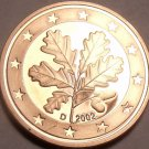 Cameo Proof Germany 2002-D 2 Euro Cents~Minted In Munich~Cameo~Free Shipping~