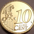 Cameo Proof Germany 2003-F 10 Euro Cents~Stuttgart Mint~Cameo~Free Shipping~