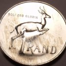 Rare Silver Proof South Africa 1967 Rand~Only 25,000 Minted~Free Shipping