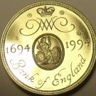 Gem Cameo Proof Great Britain 1994 2 Pounds~Bank Of England 300th Anniv~Free Shi