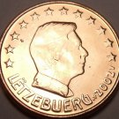 Gem Unc 2002 Luxembourg 5 Euro Cents~See All Our Gem Unc Coins~Free Shipping