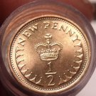 Gem Unc Roll (50) Great Britain 1971 Half Penny's~1st Year Ever Minted~Free Ship