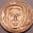 Massive Bronze Proof J. M. Davis Worlds Largest Gun Collection Medallion~Free Sh