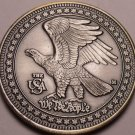 Huge Gem Unc United States Solid Pewter Medallion~Spirit Of America~Free Ship