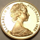 Cameo Proof Australia 1982 2 Cents~Frilled Neck Lizard~100,000 Minted~Free Ship