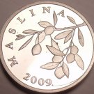 Proof Croatia 2009 20 Lipa~Proofs Are The Mints Best Work~Olive Branch~Free Ship