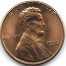 United States Unc 1970-P Lincoln Memorial Cent~Free Shipping