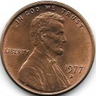 United States Unc 1977-D Lincoln Memorial Cent~Free Shipping