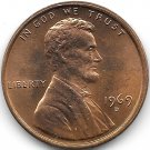 United States Unc 1969-D Lincoln Memorial Cent~Free Shipping