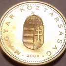 Rare Proof Hungary 2008-BP Forint~Only 4,000 Minted~Minted In Budapest~Free Ship