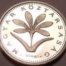 Rare Proof Hungary 2008-BP 2 Forint~Only 4,000 Minted~Colchicum Hungaricum~Fr/Sh
