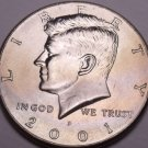 United States Unc 2001-P Kennedy Half Dollar~Free Shipping