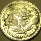 Huge Proof Canada 1970 Manitoba Dollar~We Have Canadian Coins~Free Shipping