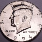 United States Unc 1996-P Kennedy Half Dollar~Free Shipping