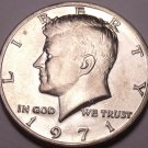 United States Unc 1971-P Kennedy Half Dollar~Free Shipping