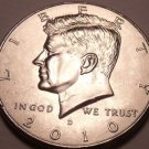 United States Unc 2010-D Kennedy Half Dollar~Free Shipping