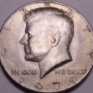 United States Unc 1979-P Kennedy Half Dollar~Free Shipping