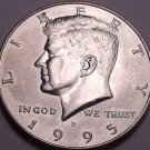 United States Unc 1995-D Kennedy Half Dollar~Free Shipping