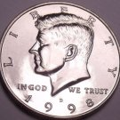 United States Unc 1998-D Kennedy Half Dollar~Free Shipping