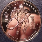 Silver Proof Canada 1993 Dollar~Stanley Cup Hockey~294,314 Minted~Free Shipping