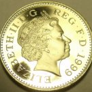 Cameo Proof Great Britain 1999 5 Pence~Only 79,401 Minted~Free Shipping