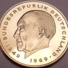 Gem Cameo Proof Germany 1975-G 2 Marks~Konrad Adenauer~43k Minted~Free Shipping