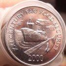 Gem Unc Roll (40 Coins) Panama 2000 F.A.O Issue 1 Centesimo~Panama Canal~Free Sh