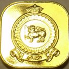 Rare Proof Ceylon 1971 5 Cents~Only 20,000 Ever Made~Last Year~Free Shipping